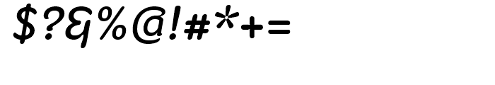 Fruitygreen Italic Font OTHER CHARS