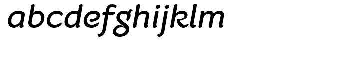 Fruitygreen Italic Font LOWERCASE