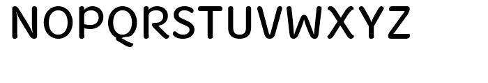 Fruitygreen Regular Font UPPERCASE