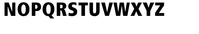 Frutiger 87 Extra Black Condensed Font UPPERCASE