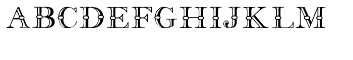 Frys Alphabet Regular Font UPPERCASE