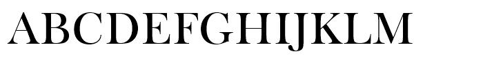 Frys Baskerville Roman Font UPPERCASE