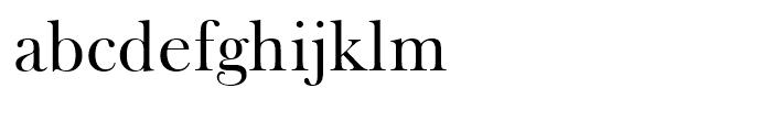Frys Baskerville Roman Font LOWERCASE