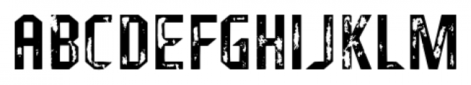 Fragile Bombers Attack Font UPPERCASE