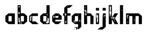 Fragile Bombers Attack Font LOWERCASE