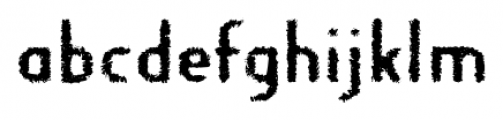 Fragile Bombers Down Font LOWERCASE