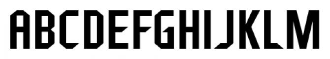 Fragile Bombers Regular Font UPPERCASE