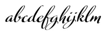 Fragrance Regular Font LOWERCASE