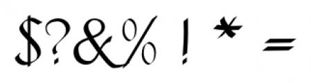 Fraktur No2 Pro Regular Font OTHER CHARS