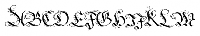 Fraktur No2 Pro Regular Font UPPERCASE