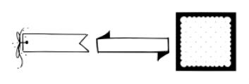 Frames and Banners Regular Font UPPERCASE