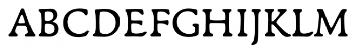 Francesco Regular Font UPPERCASE