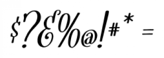 Fratello Nick Bold Italic Font OTHER CHARS