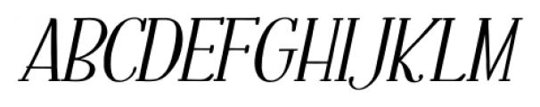 Fratello Nick Bold Italic Font UPPERCASE