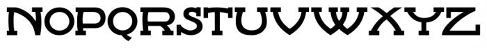 French Serif Moderne JNL Regular Font LOWERCASE