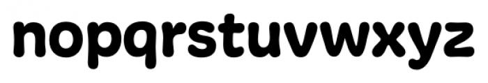 Freude Regular Font LOWERCASE