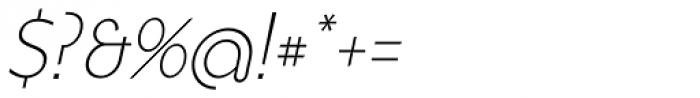 FR Hopper 231 Font OTHER CHARS