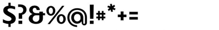 FR Hopper 530 Font OTHER CHARS
