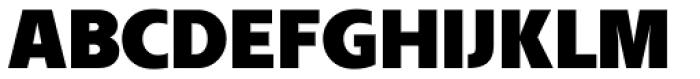 FR Hopper 730 Font UPPERCASE