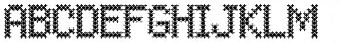 Fractal Font UPPERCASE