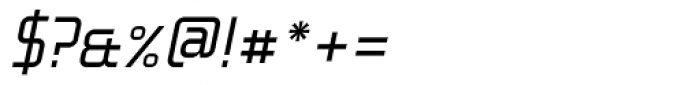 Fragma Light Italic Font OTHER CHARS