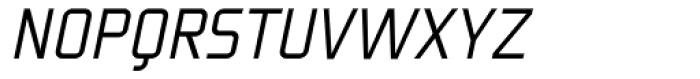 Fragma Light Italic Font UPPERCASE