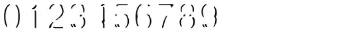 Fragment Pro Inline Lit Font OTHER CHARS