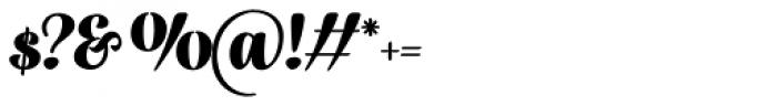 Fragola Black Font OTHER CHARS