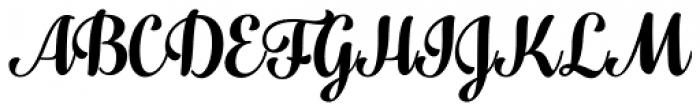 Fragola Bold Font UPPERCASE