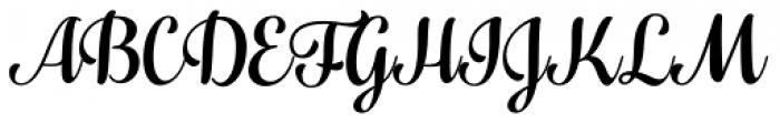 Fragola Font UPPERCASE