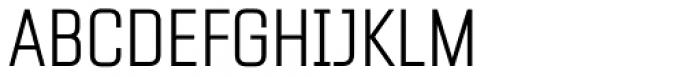 Fragua Pro Extra Light Font UPPERCASE