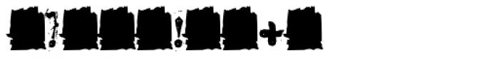 Fraktape Sticky Font OTHER CHARS