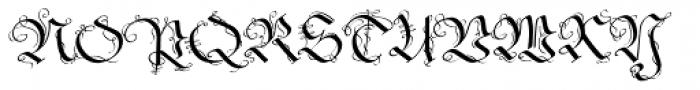 Fraktur No2 Pro Font UPPERCASE