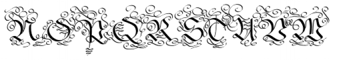 Fraktur No3 Pro Font UPPERCASE