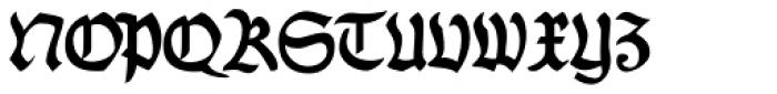 Fraktur No4 Font UPPERCASE