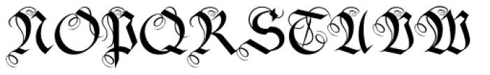 Fraktura Plus Font UPPERCASE