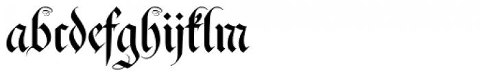 Fraktura Plus Font LOWERCASE