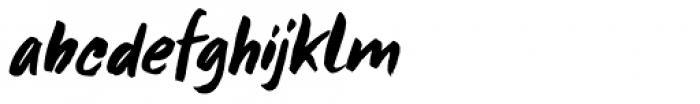 Framboisier Italic Font LOWERCASE