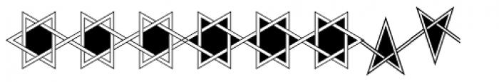Framealot Filled Font OTHER CHARS