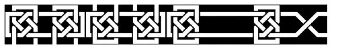 Framealot Filled Font LOWERCASE