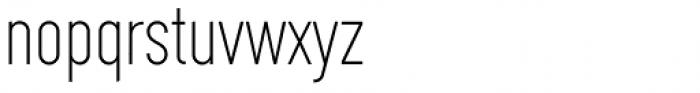 Framer Sans 200 Font LOWERCASE