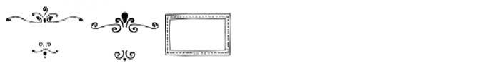 Frames and Borders Font LOWERCASE
