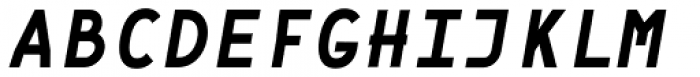 Framework Mono Bold Italic Font UPPERCASE