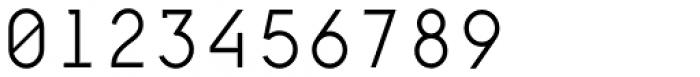 Framework Mono Light Font OTHER CHARS