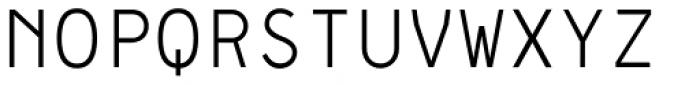 Framework Mono Light Font UPPERCASE