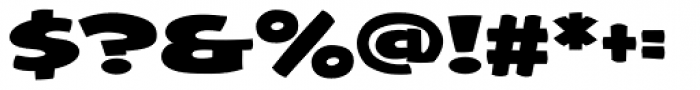 Framistat Font OTHER CHARS