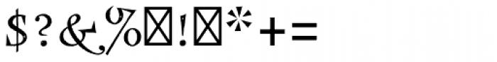 Frances Uncial Std Font OTHER CHARS