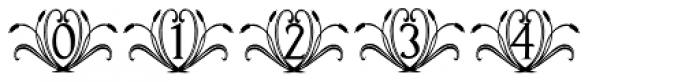 Francesco Decorative Font OTHER CHARS