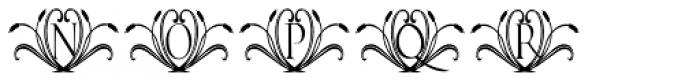 Francesco Decorative Font UPPERCASE