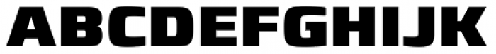 Francker Paneuropean W1G Black Font UPPERCASE